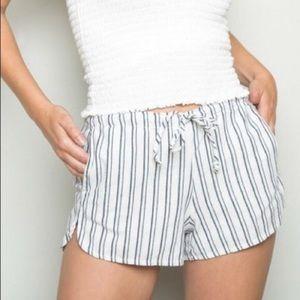 Brandy Melville Stripe Shorts